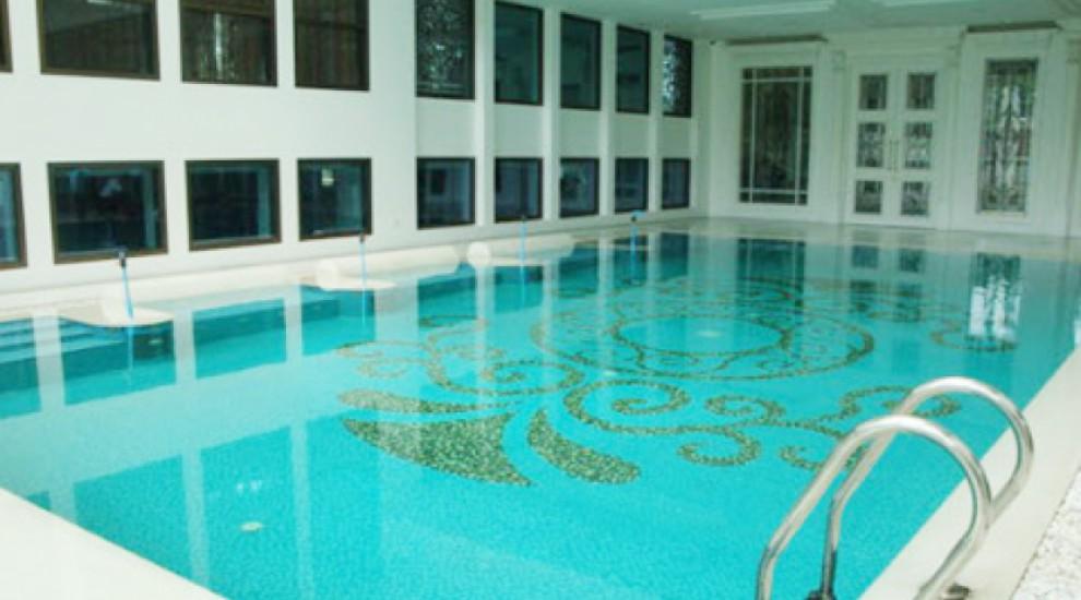 สระว่ายน้ำ บ้านคุณปะวิทย์ มาลีนนท์